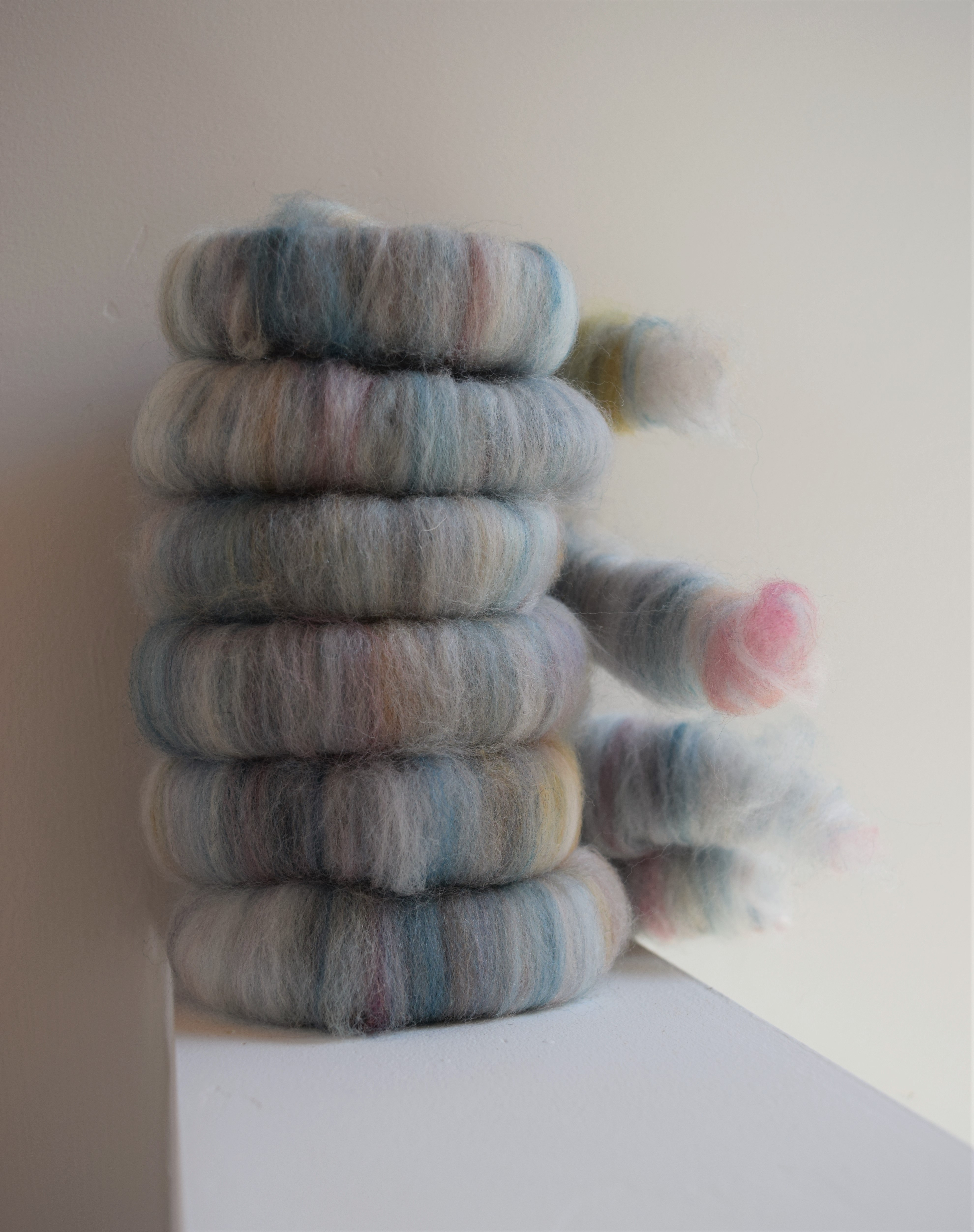 jenjoycedesign© dyed braid + white 7