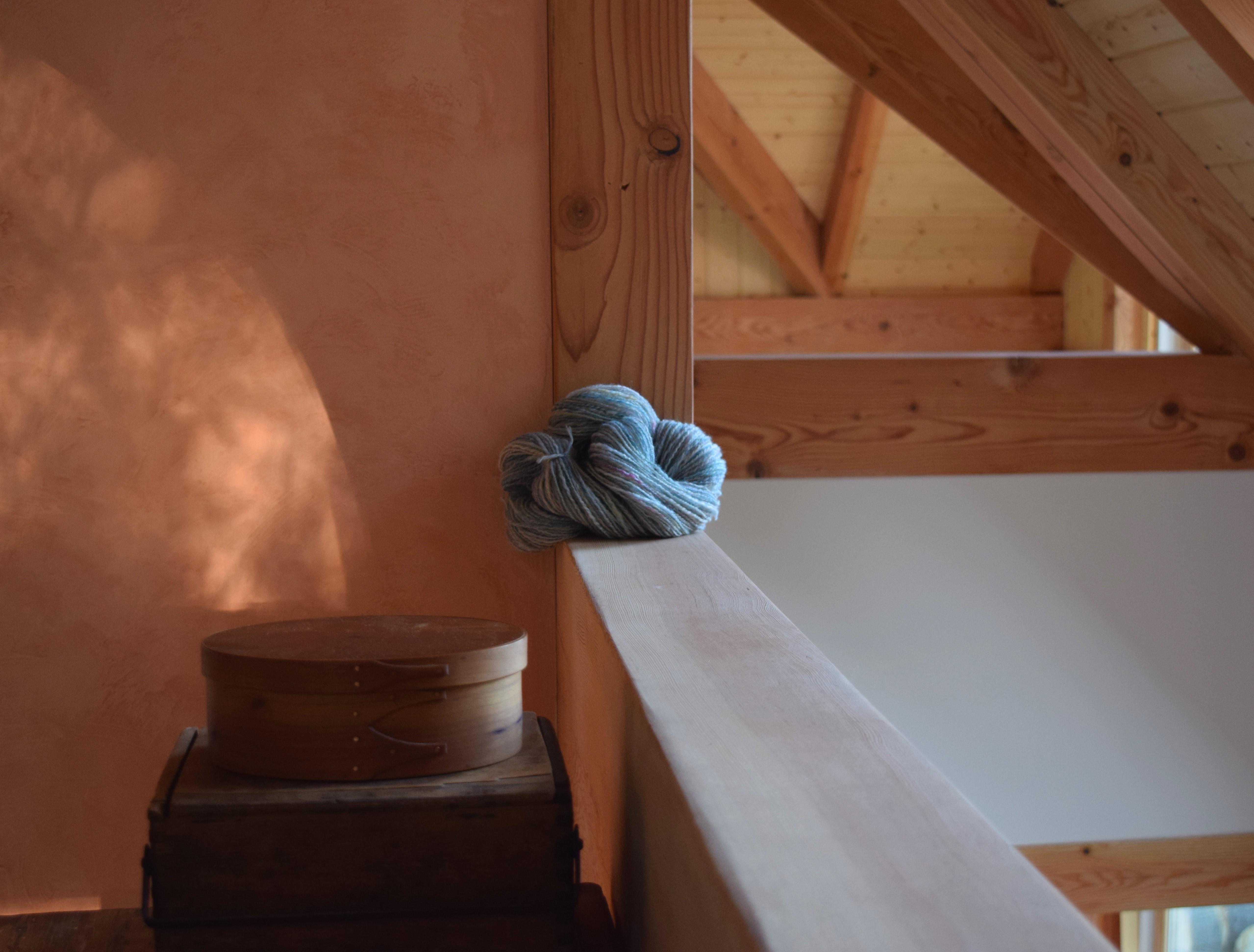 jenjoycedesign© skein in new loft