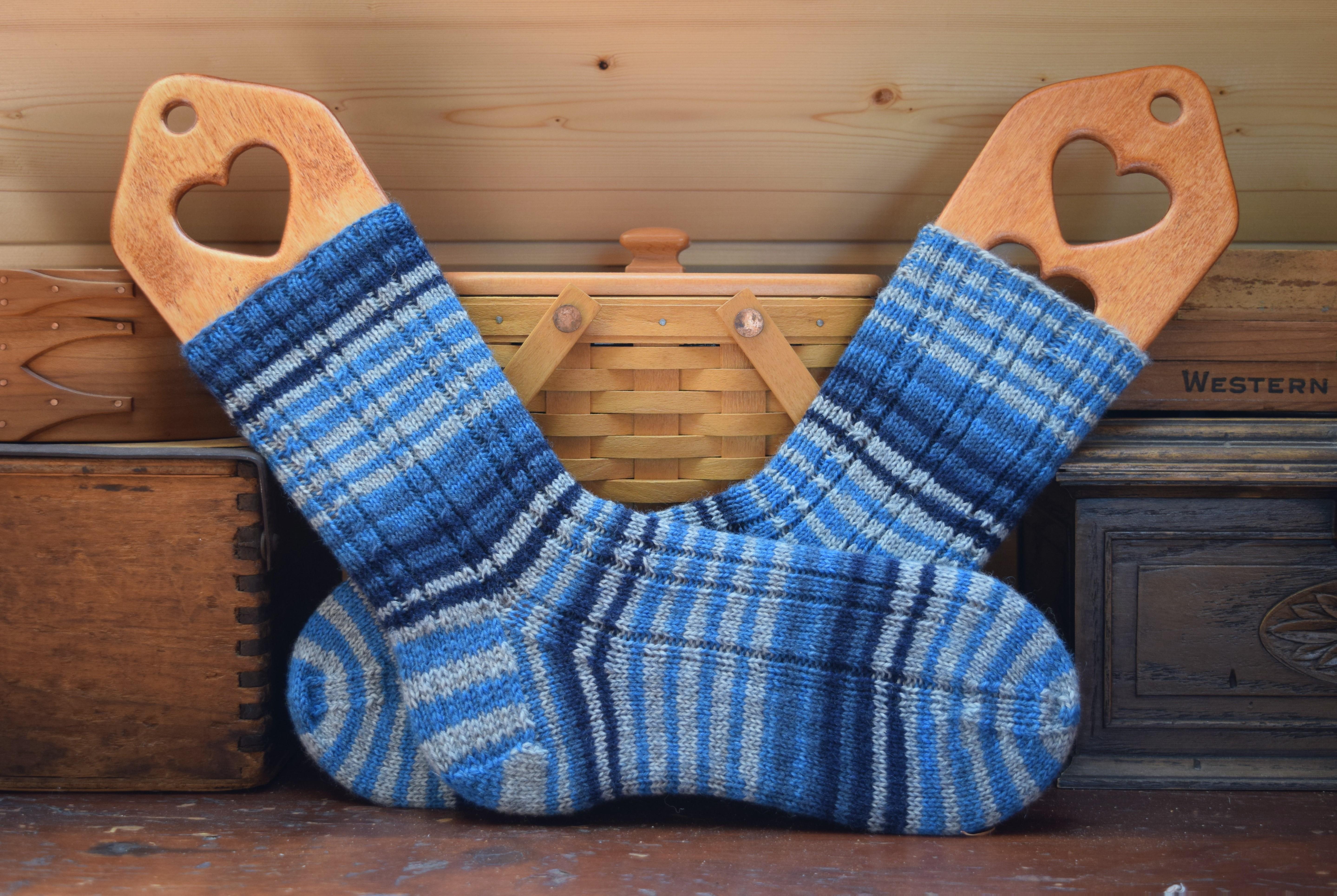jenjoycedesign© Walking With Emma socks 3