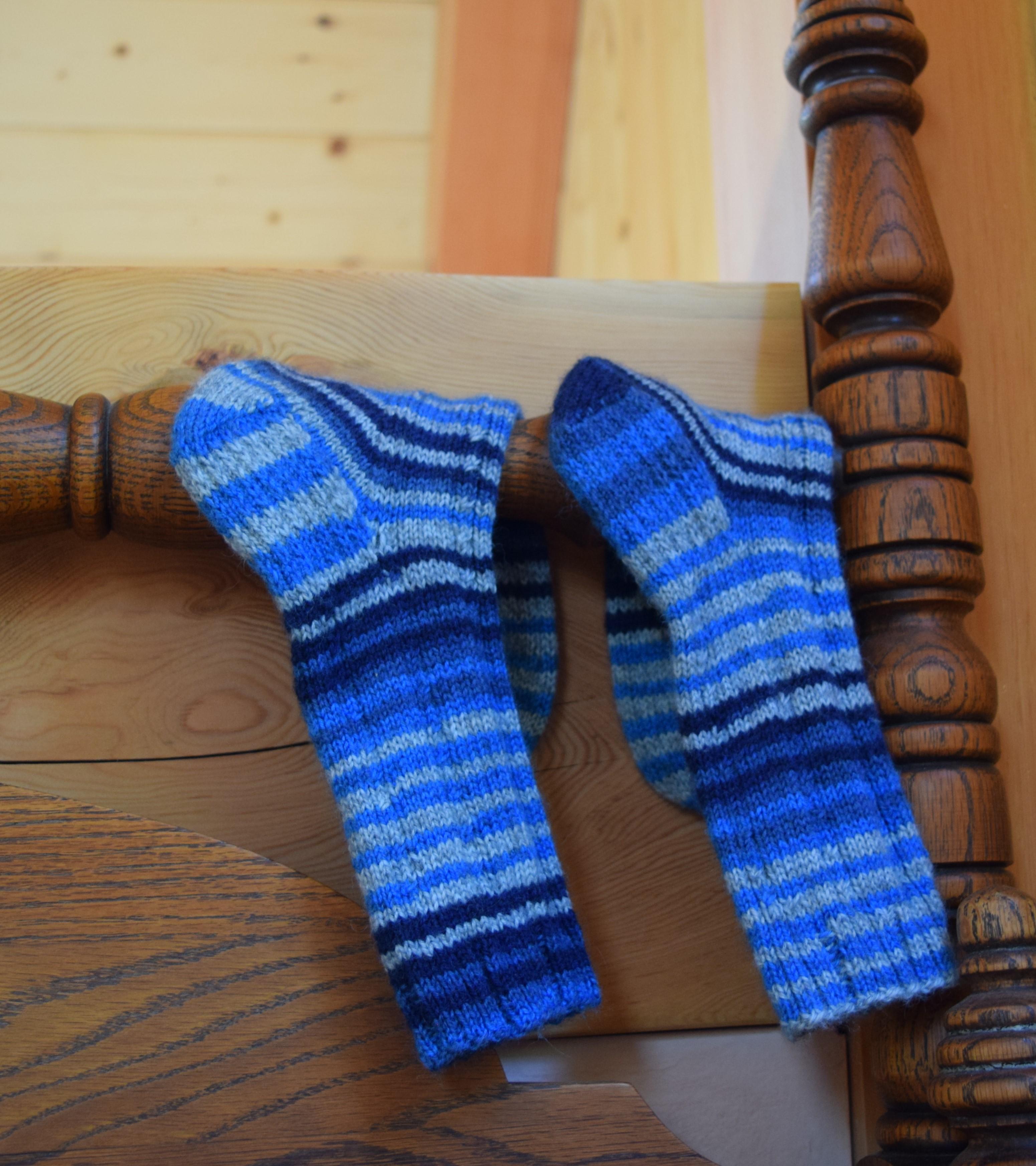 jenjoycedesign© Walking With Emma socks 4