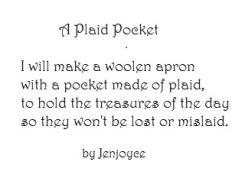 A Plaid Pocket * by Jenjoyce