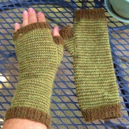 Brookfarm's Pin-Striped Mitts