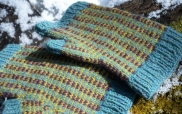 Debbiedas' Tartan & Tweed Fair Isle Mitts