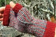 Enquery's Tartan & Tweed Fair Isle Mitts