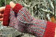 Enquery's Tartan & Tweed Fair Isle Mitts