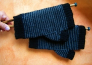 Jenjay's Mens Pin-Striped Mitts