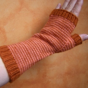 Jenjay's Pin-Striped Mitts