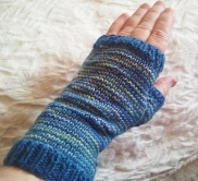 SnohomishCarol's Pin-Striped Mitts