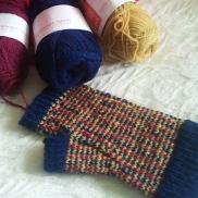 SnohomishCarol's Tartan & Tweed Fair Isle Mitts