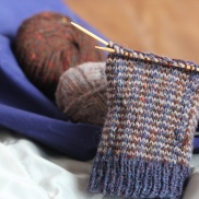Socksformum's Tartan & Tweed Fair Isle Mitts