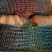 Kaystirs' Tartan & Tweed Mitts http://www.ravelry.com/projects/kaystir/tartan--tweed-fair-isle-fingerless-mitts