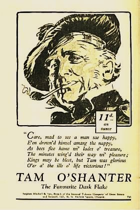 Tam O Shanter Pipe Tobacco - 1932