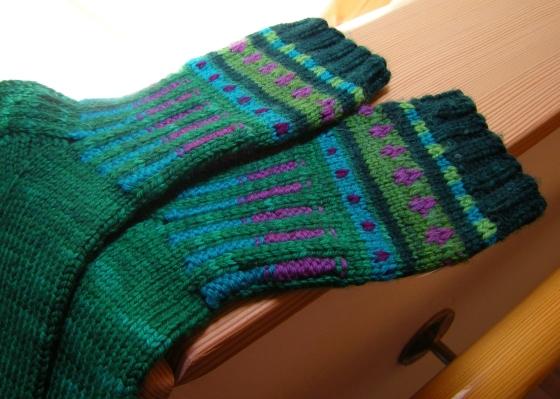jenjoycedesign©wild-boot-socks-detail
