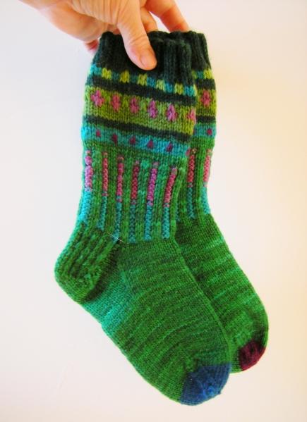 jenjoycedesign©wild-boot-socks!