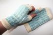 Gdoran's Tartan & Tweed fingerless mitts