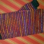 SharonLovesToKnit (pin-striped fingerless mitts)