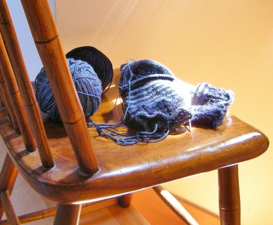 jenjoycedesign©Malabrigo sock-knitting