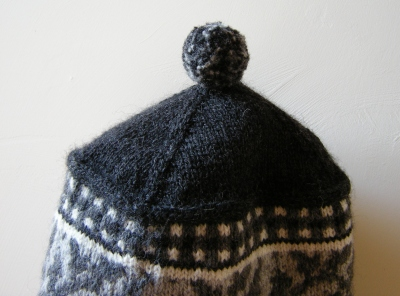 jenjoycedesign©Vineyard Rows Toque detail