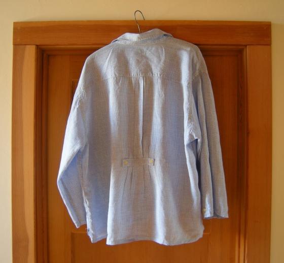jenjoycedesign©linen-shirt-upcycle-back