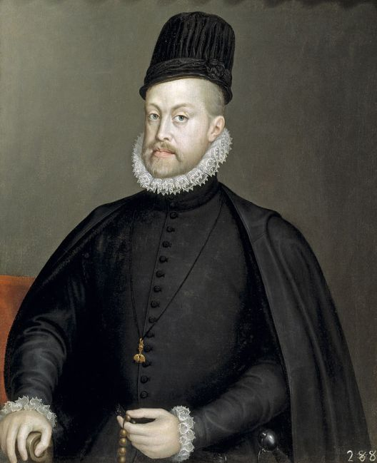 Sofonisba Anguissola -- Portrait of Phillip II of Spain