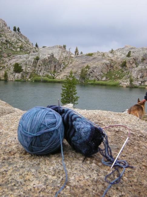 jenjoycedesign©camp knitting