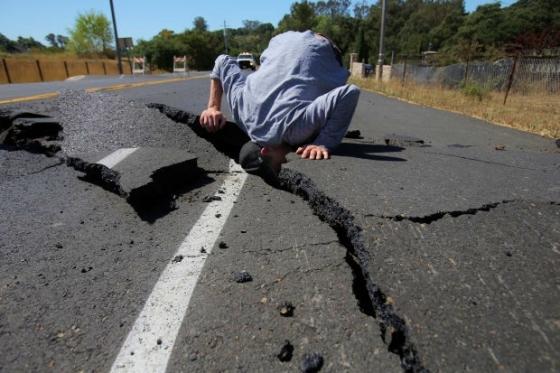 Napa quake fault