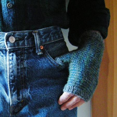 jenjoycedesign©Man Tartan & Tweed Mitts  (2)