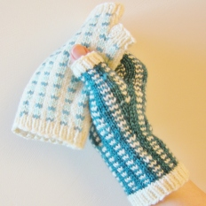 jenjoycedesign©Tartan & Tweed Mitts - square