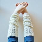Double Cappuccino Leg Warmers