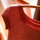 Pin-striped Sweater Tee