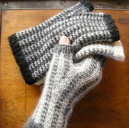 Tartan & Tweed Mitts