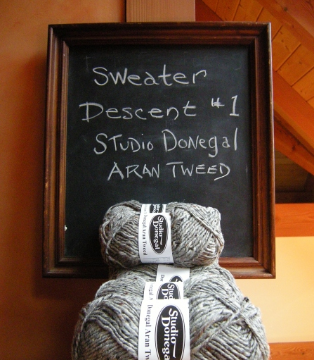 jenjoycedesign© sweater-descent-aran-tweed