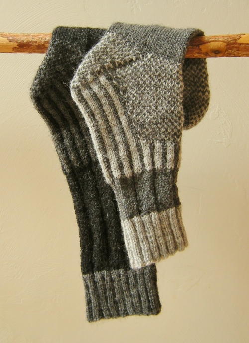 jenjoycedesign© Wild Wool Trail Socks (2)