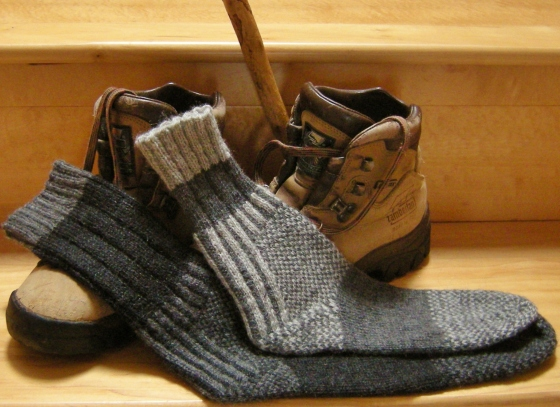 jenjoycedesign© Wild Wool Trail Socks