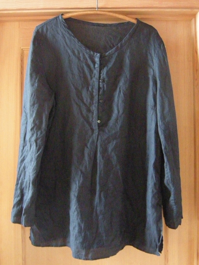 jenjoycedesign© before Talbots Irish Linen Tunic