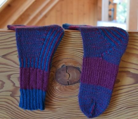 jenjoycedesign© Wild Wool Trail Socks 012