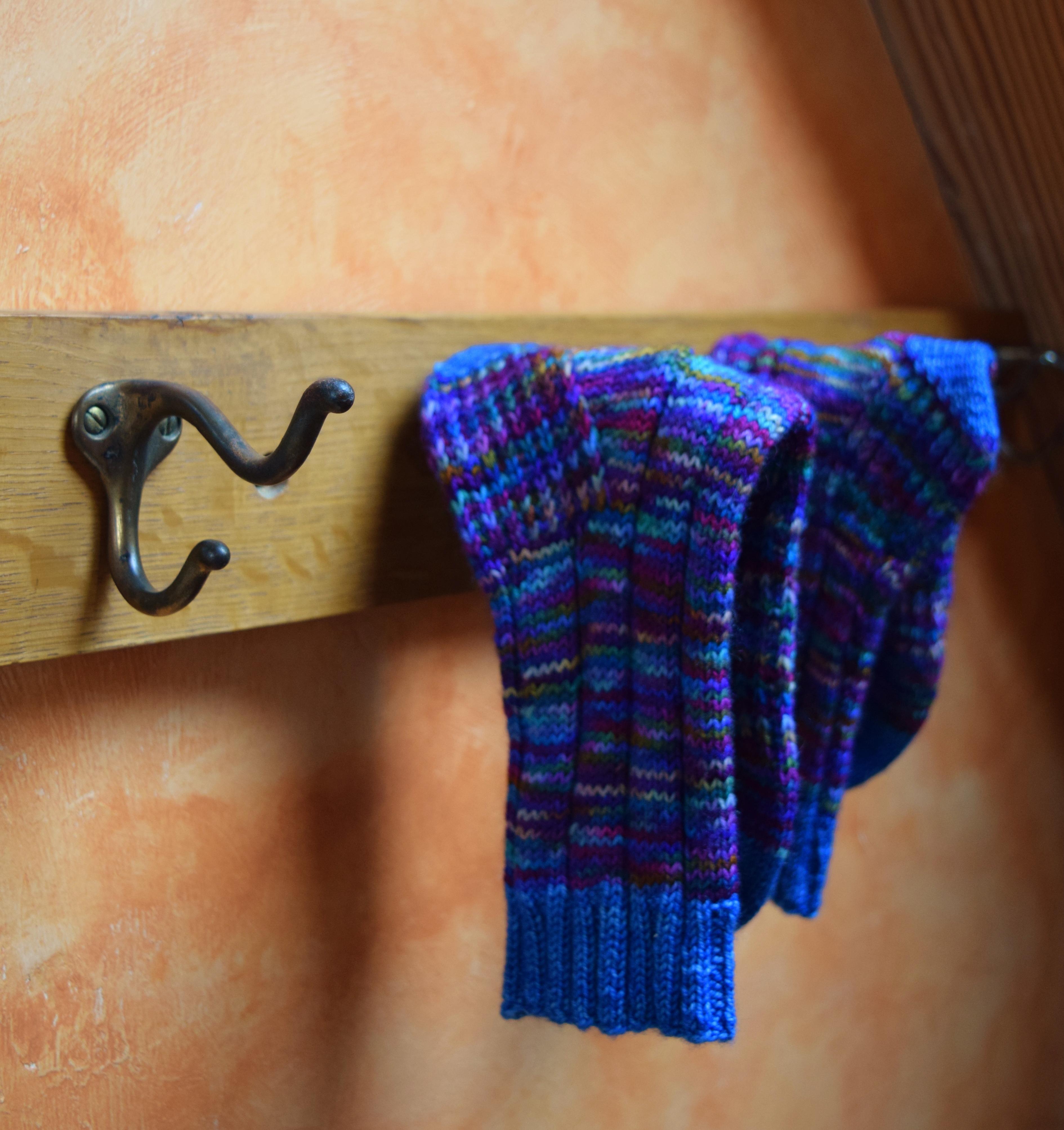 jenjoycedesign© Wild Wool Country Socks with Ripples Sock Yarn