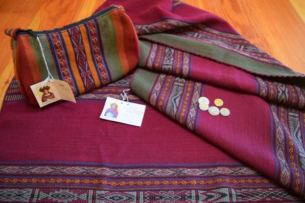 Peruvian textile gifts.JPG