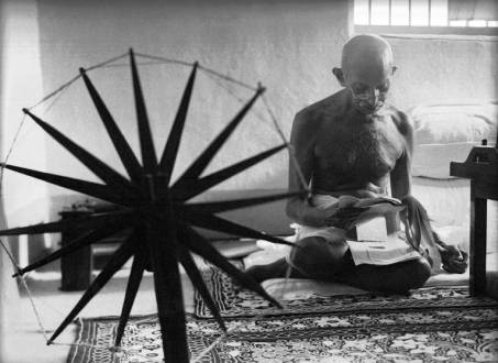 Gandhi and His Spinning Wheel: the Story Behind an Iconic Photo