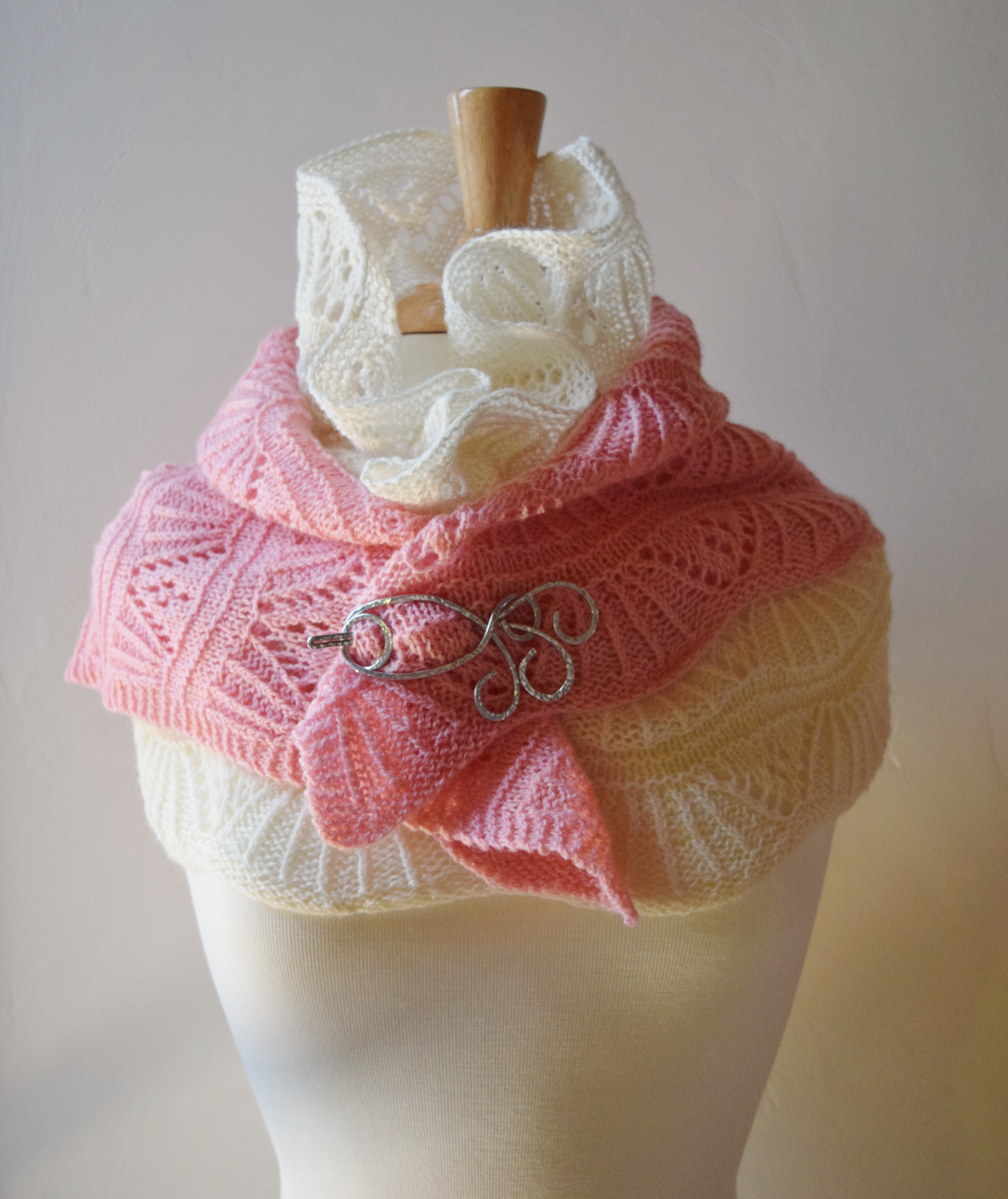 jenjoycedesign© small shawl & cowl together
