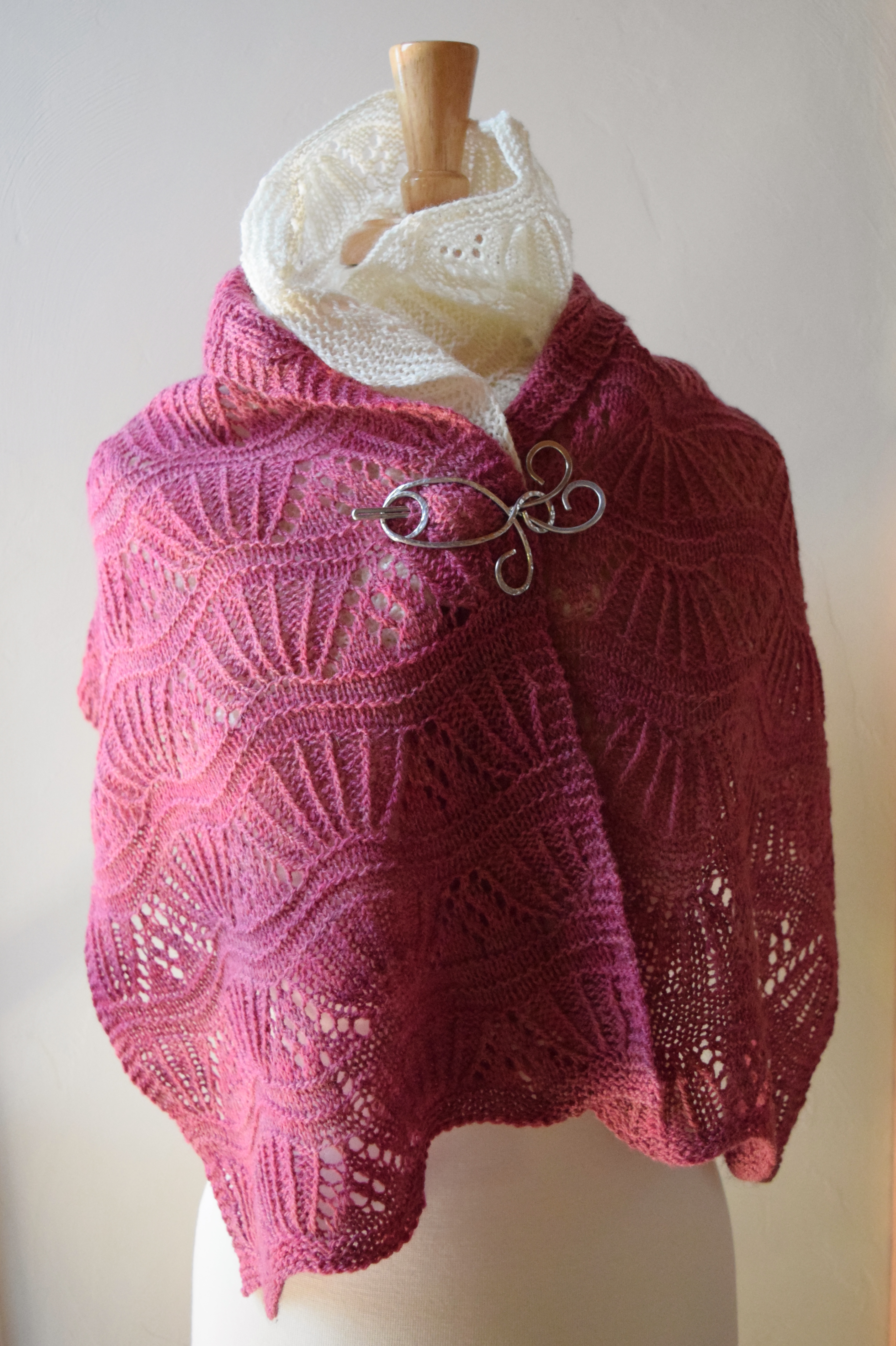 jenjoycedesign© small stole & cowl together