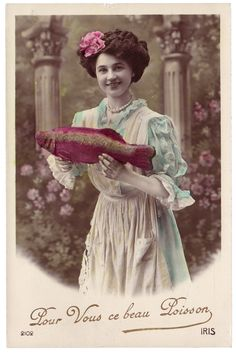 poisson d' avril post cards-beautiful-fish-april-fools-day