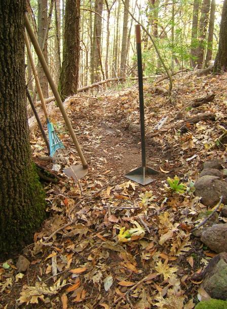 jenjoycedesign© trail work