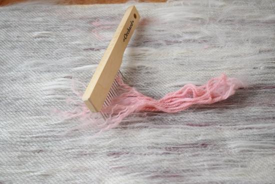 jenjoycedesign© yarn combing