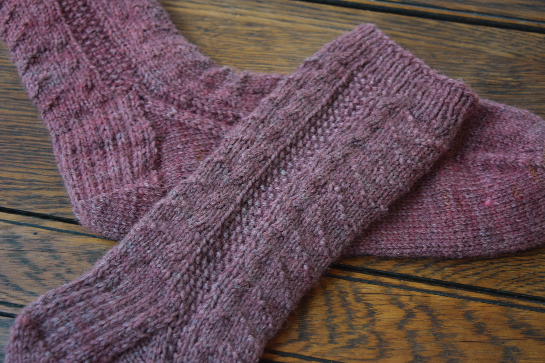 jenjoycedesign© rose socks 3