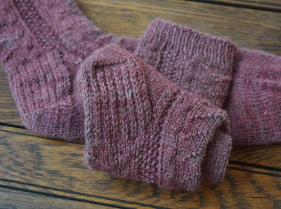 jenjoycedesign© rose socks 4