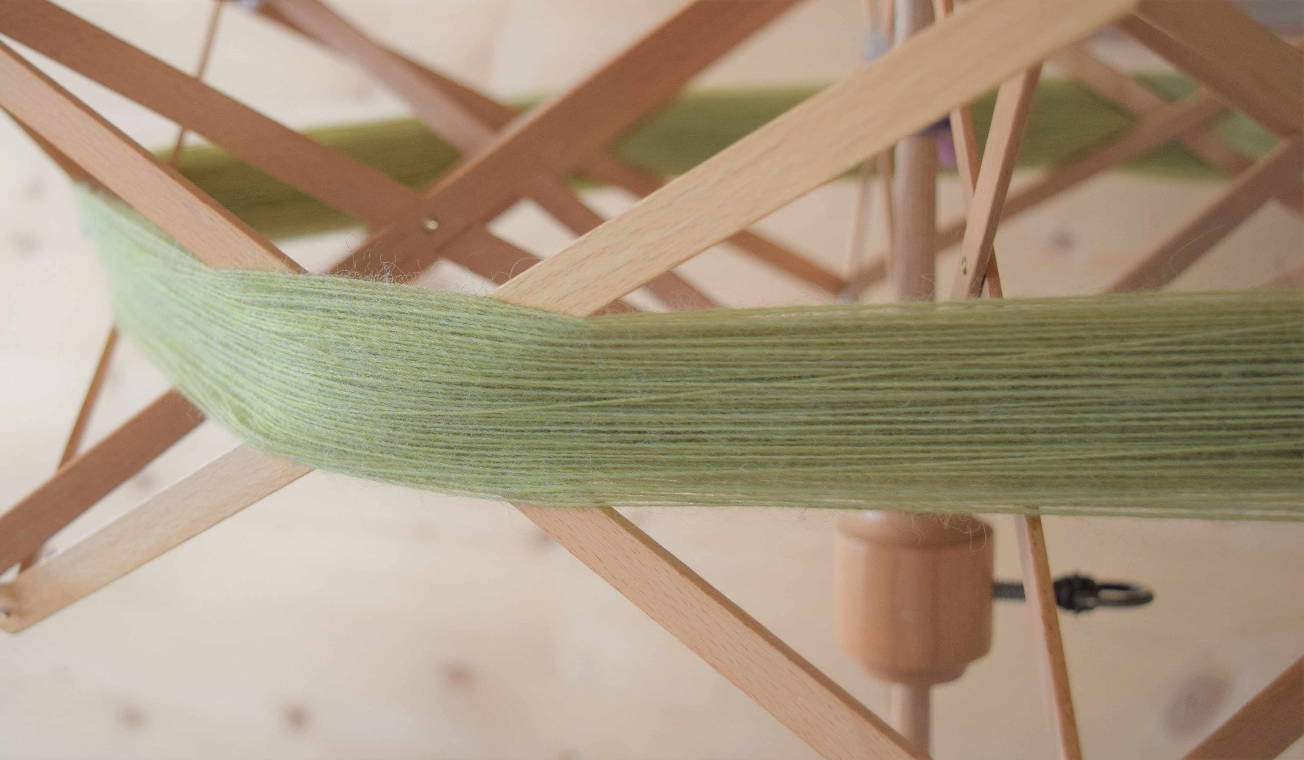 jenjoycedesign© Unspun 1100 green tea heather 9