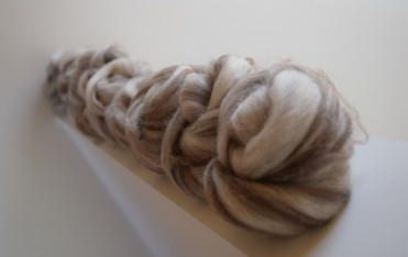 200g mixed natural (unknown wool)