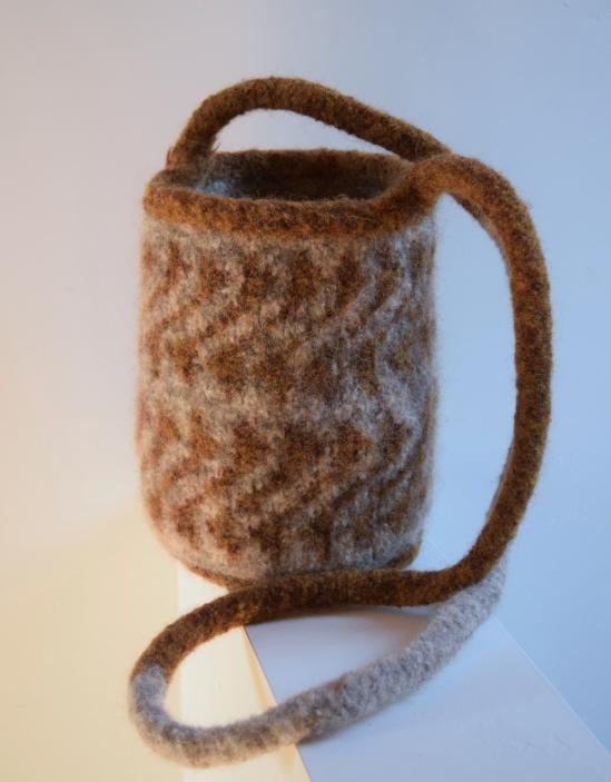 jenjoycedesign© felted knitting bag 1