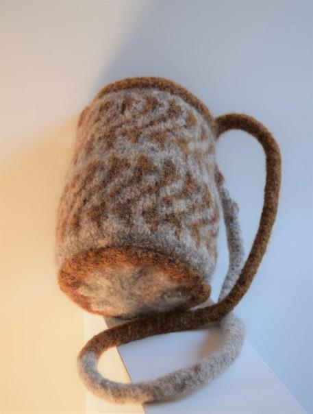 jenjoycedesign© felted knitting bag 10